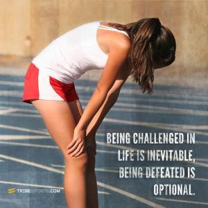 challenged no defeated